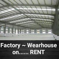 50,000 Sft RCC Factory/Wearhouse on Rent