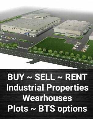 18000 to 90000 Sft Wearhouses on Rent