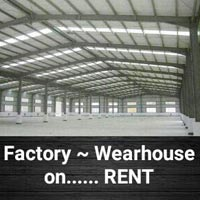 25000 Sft Wearhouse ~ Factory Shed on NH. 8