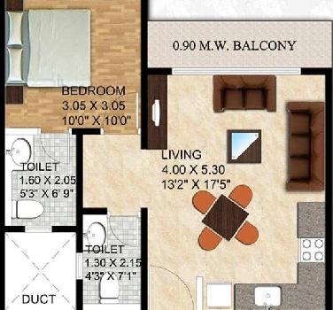 1 BHK Apartment At Alibaugh, 30.99 Lac