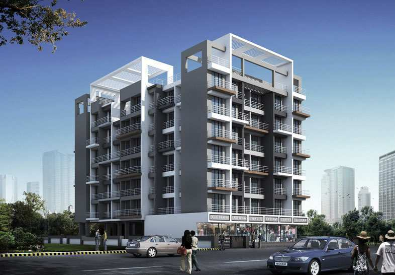1 BHK Apartment At Ulwe, 44.42 Lac.
