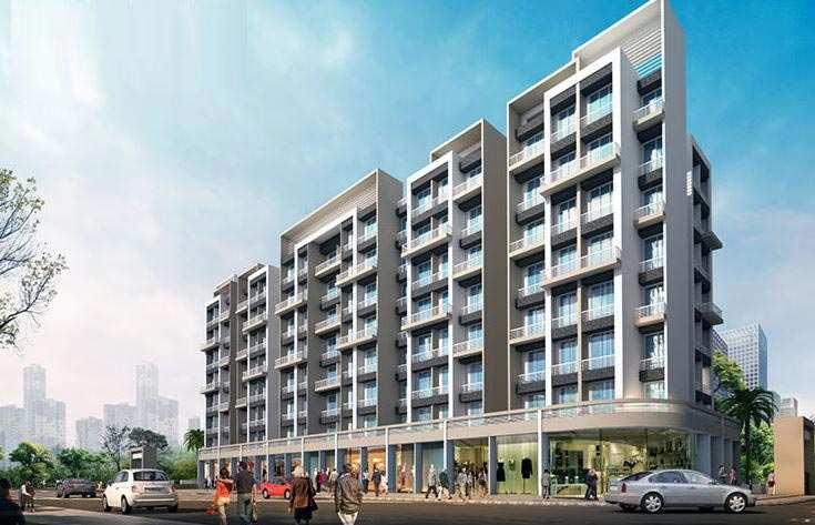 1 BHK Apartment At kamothe, 47.7 Lac