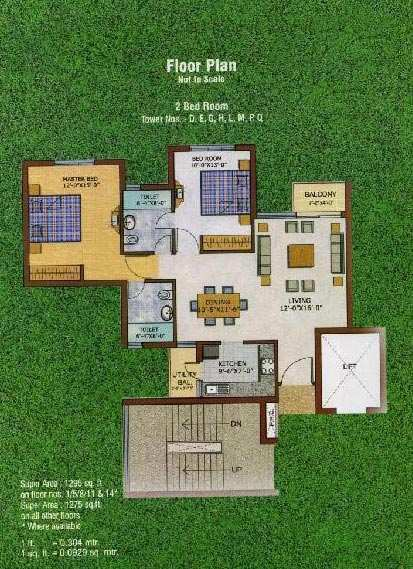 2 bhk Flats for sale at Lucknow