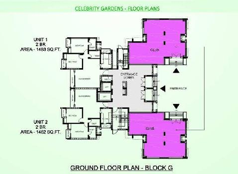 2 bhk Flats for sale at Sushant Golf City
