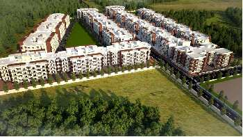 Newly Built Flat at Modern Township - Akshay Town