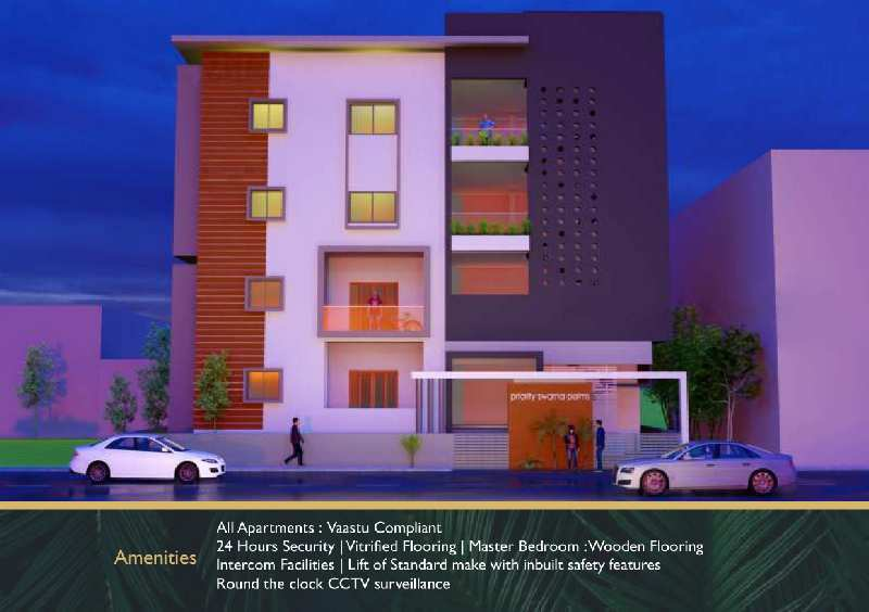 3 BHK Flats & Apartments for Sale in Gokul Road, Hubli