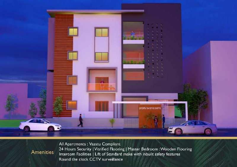 1057 Sq.ft. Flats & Apartments for Sale in Gokul Road, Hubli