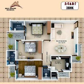 3 BHK FLAT IN GWALIOR
