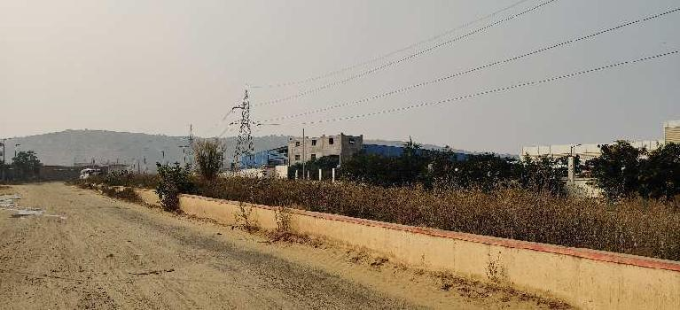 Main Road 3 Acres Industrial Land Sale Bhiwadi Industrial Hub