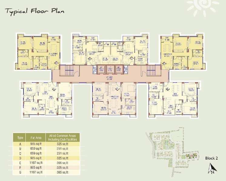 2 BHK Flats & Apartments for Sale in Lake Town, Kolkata