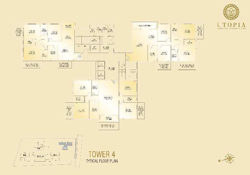 4 BHK Flats & Apartments for Sale in Madurdaha, Kolkata