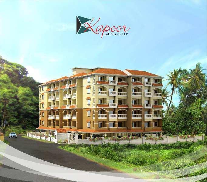 2 BHK Flats & Apartments for Sale in Mapusa, North Goa, Goa