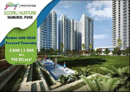 2BHK with 2 balcony flats in Mamurdi
