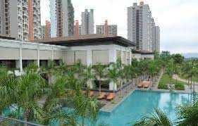 Semi furnished 3BHK with Pooja room in Lodha Belmondo