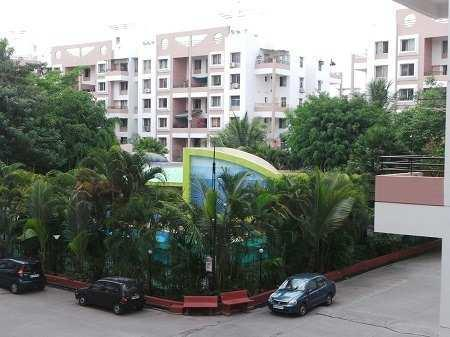 2BHK flat sale with 2 balconies in Kunal Icon