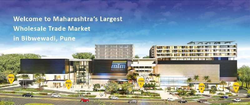 575 Sq.ft. Commercial Shops for Sale in Bibvewadi, Pune