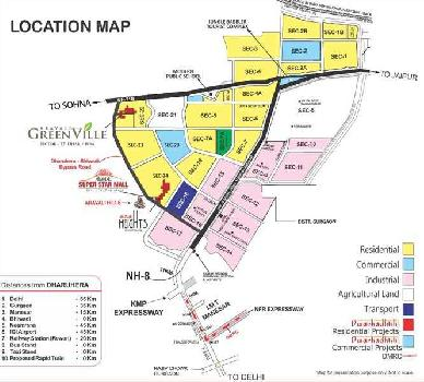 2 BHK + Study Flats for sale in Aravali GreenVille Dwarkadhish