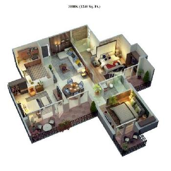 Cosmos Lanched 3 BHK Flats In Bhiwadi Rajasthan