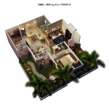 Cosmos Lanched 2 BHK Afordable Flats In Bhiwadi Rajasthan
