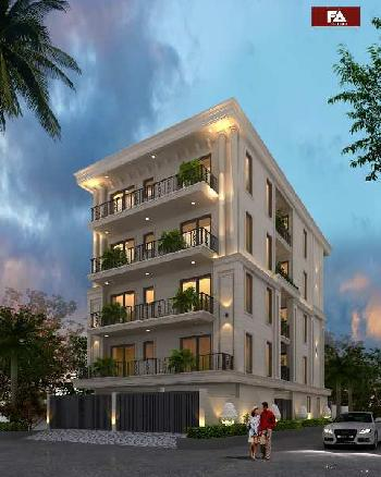 VERY WELL DONE UP, N-E FACING, RESIDENTIAL BUILDER FLOOR FOR SALE IN DLF PHASE 4