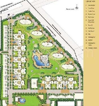 Apartment for rent in Emaar MGF Palm Drive, Sector-66 Gurgaon