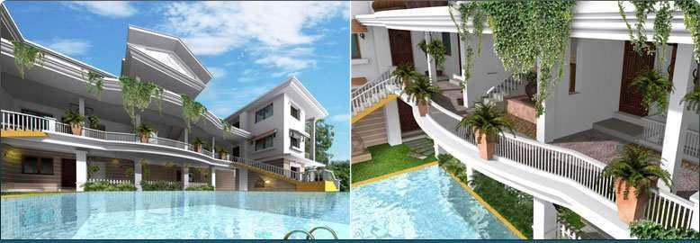 1 BHK Apartment for Sale at Aldeia Siesta - Nagoa