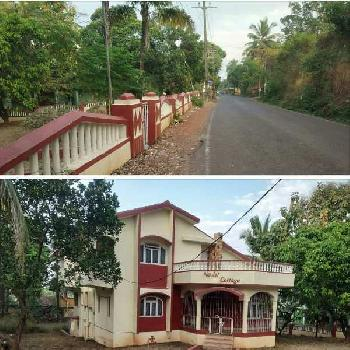 Land with House for Sale in Aldona - North Goa