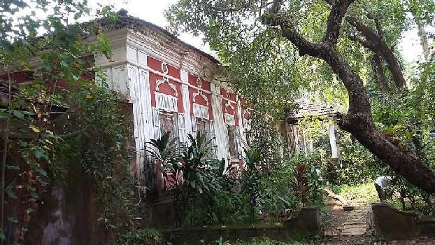 Land with Portughuese House for Sale in Arpora