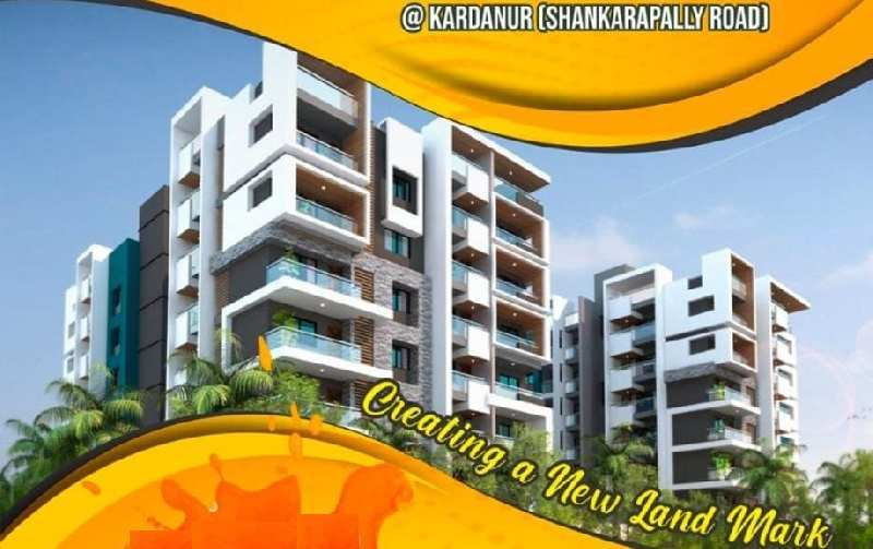 2 BHK Flats & Apartments for Sale in Kardhanur, Hyderabad