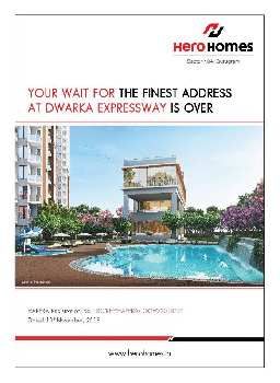 2BHK Flat of Hero Group at Sec 104, Gurgaon