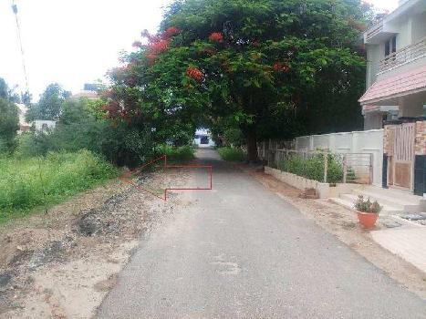 5.5 cents  DTP Res. Land for sale in balaji Nagar, near Gurusamy nagar, Vadavalli, Coimbatore