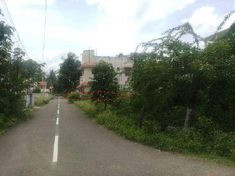 6.5  cents DTP Res. Land for sale in JJ nagar, Near gurusamy nagar,Vadavalli, Coimbatore
