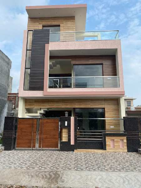 Newly built residential house