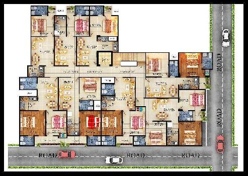 1 BHK Flats & Apartments for Sale in Sector 121, Noida