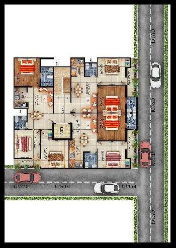 2 BHK Flats & Apartments for Sale in Shahberi, Greater Noida