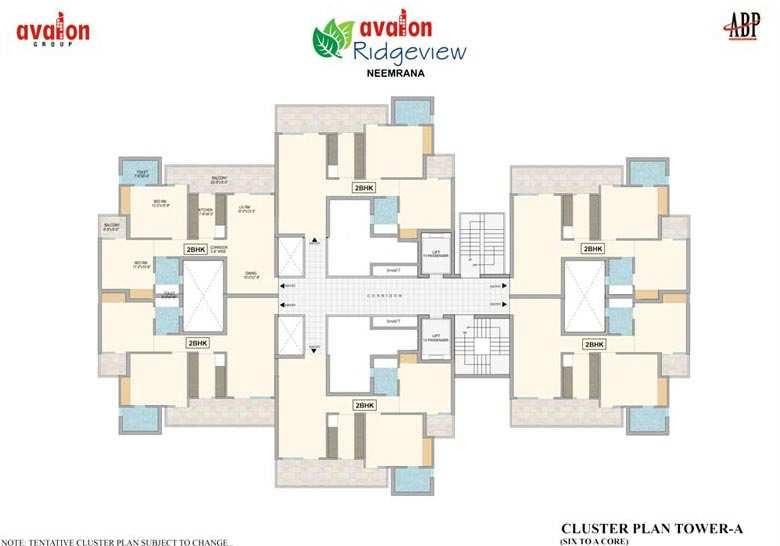 Avalon Ridgeview Neemrana 2 BHK, 3 BHK apartments