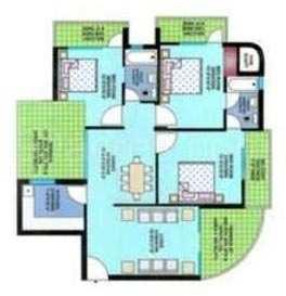 3 BHK Flat for Rent in Delhi Dwarka