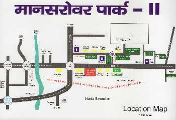 PLot near jaipuria sunrise greens NH 24 Ghaziabad