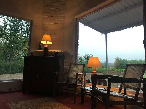Cottage with farm land  sale in Hoshiarpur hilly view