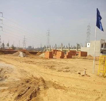 100 sq yard plot in Darpan greens Kharar