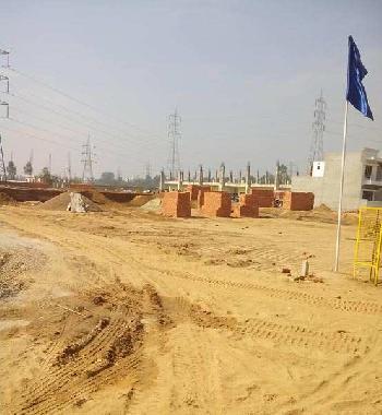 Plots @ 12500/- sq yard in guru nanak enclave kharar