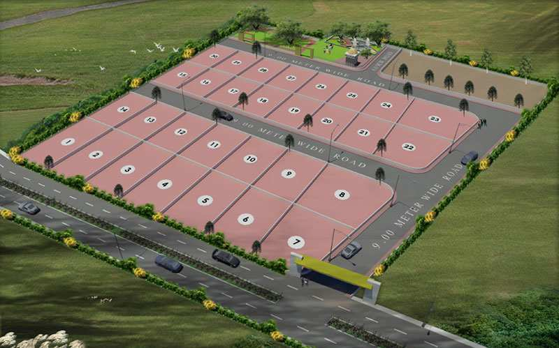 N.a. Plots Near Shirdi(good for Investment and Second Home for Week End)