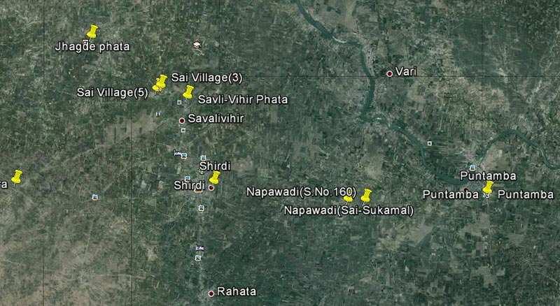 Amenity Plot of Size 29429 Sq.ft, Just 9 Kms. from Shirdi Puntamba Road