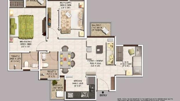 Residentia Apartment For sale in Sector 10 Noida