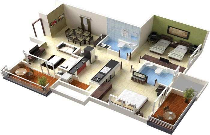 1 BHK Flats & Apartments for Sale in Andheri, Mumbai North