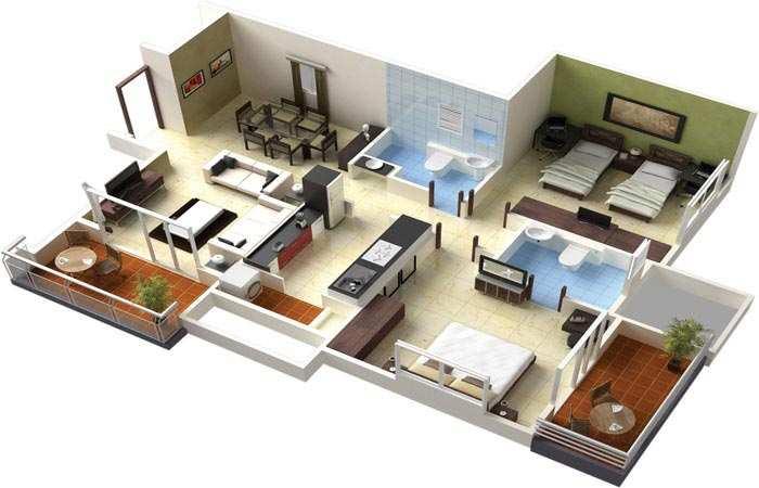 1 BHK Flats & Apartments for Sale in Jogeshwari, Mumbai
