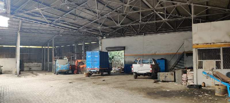 Available Industrial Premises On Rental Basis At Turbhe MIDC