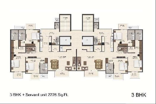Duplex 4 BHK Penthouse with Super Interiors Design at Pre-Launch Rate