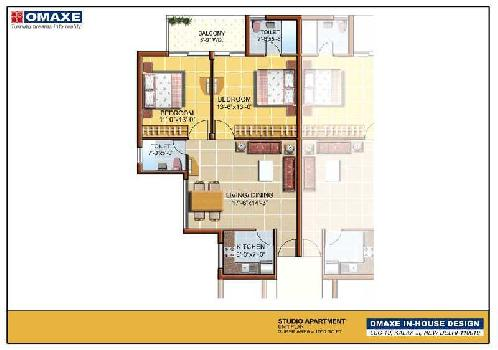 2 BHK Fully Furnished Flat Available for Rent