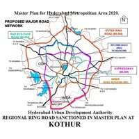 Open Plots for Sale in Kothur,Hyderabad
